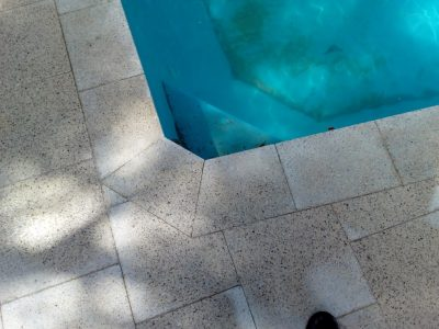 Perth pool paving