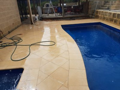 Pool paving Perth